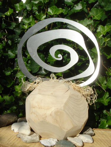 Spirale in Holz